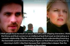 Captain Swan = REAL connection. Captain Hook and Emma Swan - Once Upon A Time