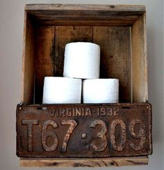 Chalkboard Label Boxes - 8 New Ways to Use Old Wooden Crates - Bob Vila