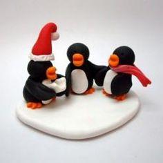 Christmas Cake Adornments