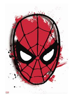 Marvel Comics Retro: Spider-Man Stretched Canvas Print