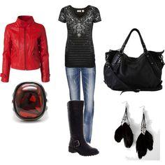 biker chic,