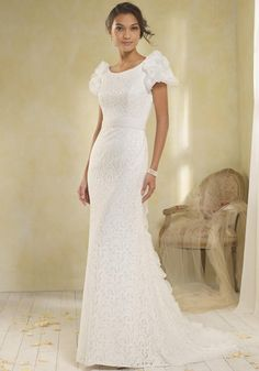 Alfred Angelo Modern Vintage Bridal Collection 8564 Wedding Dress