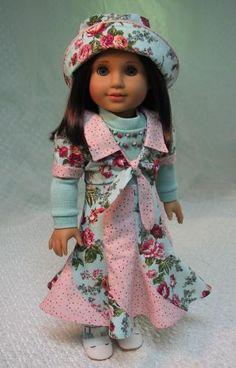 MHD Designs - Spirale - Fashion Pattern for 18 Inch American Girl Dolls
