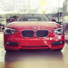 RED HOT BMW...