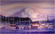 """""""Gig Harbor"""" - by John Ebner"""