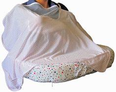 Manta color Blanco con estrellas rosadas. #baby #lactanciamaterna #embarazo #madres #babyshower