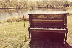 Always thought it would be cool to play the piano outside. :) Or to play one of those really long awesome Grand Pianos.