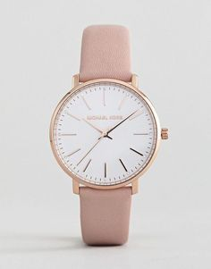 MICHAEL KORS MICHAEL KORS MK2741 PYPER LEATHER WATCH IN PINK 38MM. #michaelkors #androidwatch,digitalwatch,gpswatch,sportwatch,quartzwatch,luxurywatches,elegantwatches,bestwatches,beautifulwatches,menswatches,appleWatch,smartwatches,fashionwatches,aestheticwatches,casualwatches,popularwatches Fancy Watches, Simple Watches, Cute Watches, Girl Watches, Rose Gold Watches, Wrist Watches, Stylish Watches For Girls, Trendy Watches, Luxury Watches Women