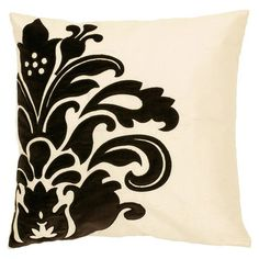 <3 this  #Black and #White #Pillow