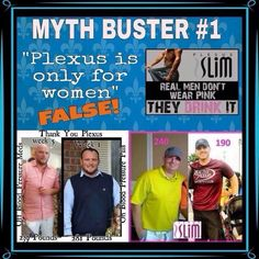 Plexus Slim weight loss can occur for male or female!  http://abbycooper.myplexusproducts.com/lang/en-us