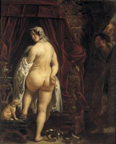 Rubens - Susanna--beautiful, but then consider what role looking at this puts you in the legend.