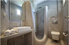 SAINT VLASSIS HOTEL NAXOS My Works, Toilet, Sink, Bathroom, Home Decor, Sink Tops, Washroom, Flush Toilet, Vessel Sink
