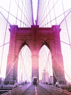 Walking across the Brooklyn Bridge was on my Bucket List my whole life.  Now that I live here I can walk it as much as I want and it never gets old!!