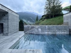 7132 Hotel thermes de Vals Hotel pool