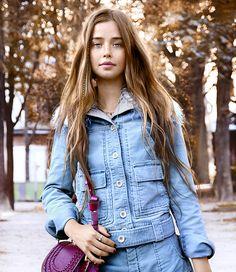 #FloMorrisey at #Chloe #pfw #ss2016 #beauty #fashion