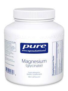 Pure Encapsulations- Magnesium (glycinate) 120 mg 180 vcaps