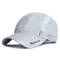 Mens Women Quick-dry Thin Breathable Snapback Flat Baseball Caps Adjustable  Outdoor Visors Hats Cheap 07da648c2859