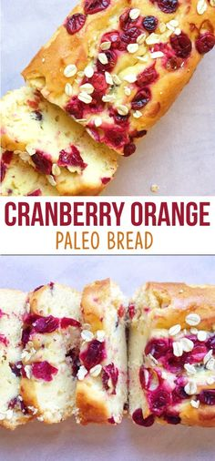 Paleo Cranberry Orange Bread – The Dish On Healthy