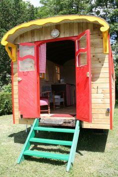 Vakantie-idee: pipowagen in de Morvan. Check bij ouders Eyrun?