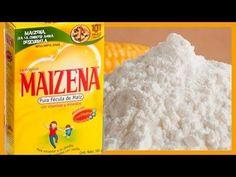 Usos inesperados del almidón de maíz (maicena)