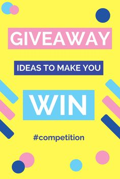 How to do a social competition?  Many influencers love giveaways, they give their audience a treat and generate tons of social followers for both the influencer and, if you negotiate the collaboration right, the brand.  Nicola Snell, owner of Press Loft, has come up with a few tips to help you make the most of a competition on a social channel.