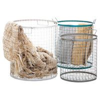 Wire Basket Set - Would be great for Ru's toys // Joss and Main