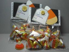 treat bags for Halloween