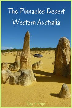 the Pinnacles Desert in the Nambung National Park, Western Australia. Located just outside the town of Cervantes on the Coral Coast Western Australia, Australia Travel, Pinnacles Desert, Nambung National Park, Travel Tours, Vacation Travel, Summer Travel, Travel Ideas, Travel Destinations