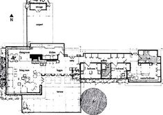 Frank Lloyd Wright Usonian House Plans - Did you know Frank Lloyd Wright Usonian House Plans is one of the hottest topics in this category? Frank Loyd Wright Houses, Lloyd Wright, Studio Floor Plans, House Floor Plans, Usonian House, Modern Mountain Home, Vintage House Plans, House Blueprints, Best House Plans