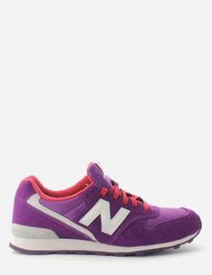01202f53d490eb New Balance Suede 996 Women s Lace Up Trainer Purple  DiffusionNewArrivals  New Balance Suede