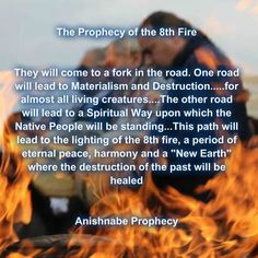 This path will lead to the lighting of the 8th fire. #8thFire #Resources