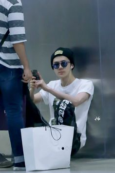 Sehun - 150803 Incheon Airport, arrival from Chengdu