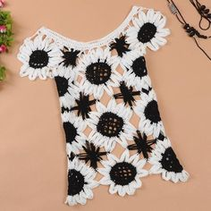 Sweet sleeveless sweater Sunflower Slim hollow from Gailalicez on Storenvy. Saved to Epic Wishlist. #want #def.