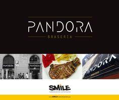 Logotipo | branding | restaurant brasería Pandora situado junto a las Ramblas de Barcelona | Cliente: Pandora Brasería | Fecha: 2013 Branding, Barcelona, Pandora, Reputation Management, Calendar Date, Logos, Brand Management, Barcelona Spain, Identity Branding