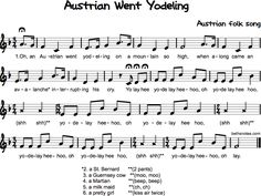Austrian Went Yodeling Music Lesson Plans, Music Lessons, Music Class, Music Education, Kor, Camp Songs, Middle School Music, Music Worksheets, Music Activities