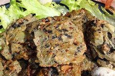Placki pieczarkowe z cebulą Steak, Pork, Kale Stir Fry, Steaks, Pork Chops