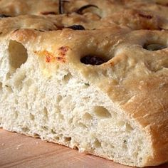 Focaccia by Matmedmera Tasty, Yummy Food, Bread And Pastries, Savory Snacks, Bread Rolls, Cheddar, Biscuits, Favorite Recipes, Crusts