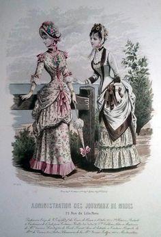 Revues Anciennes - Administration des Journaux de Modes - 1883