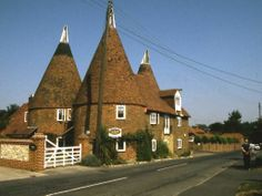 Oust Houses,Kent, once used for drying hops.