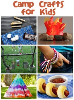 If you are looking for camp crafts and recipes, then you have truly hit the mother load here!