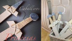 espadas disfraz caballeros Fiesta Caballeros y Princesas