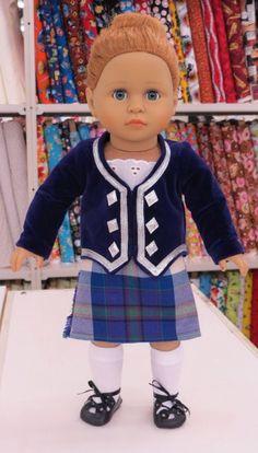 Dress Pride of Scotland Doll Costume, Dance Costumes, Scotland, Pride, Hipster, Kilts, Dresses, Style, Fashion