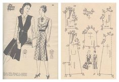 Sew for Victory outfit a.k.a my first Lutterloh 1941 Project Patterns