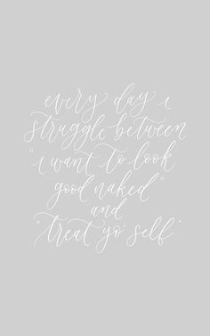 The struggle, calligraphy quote, handlettering