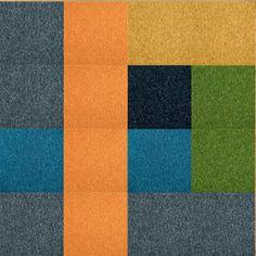 Rug I designed w/ Flor tiles. Going in my new office!