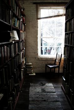 Personal library. Will have. Won't tell anyone else where it is.... :-) #books #bookshelves #home_library