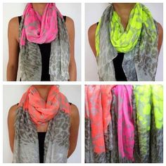 Just a few of our neon scarves - £15