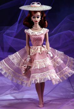 plantation belle barbie doll | Details zu BARBIE PLANTATION BELLE PORZELLAN 1992 1964 REPRO NRFB