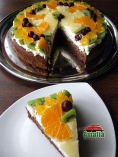 Romanian Desserts, Romanian Food, Romanian Recipes, Fondant, Homemade Cakes, Pasta, Sushi, French Toast, Sweet Treats