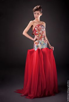 Guo Pei 2012 Fashion Collection